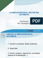 Apresentação - La Innovación en El Sector Del Automóvil