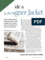 Inside a Designer Jacket