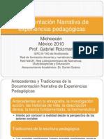 Documentación Narrativa de Experiencias Pedagógicas Version Imprimir