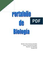 Portafolio de Biologia