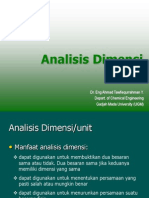 02 Analisis Dimensi Dan Neraca Massa