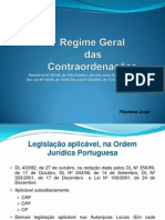Regime Geral Das Contraordenações