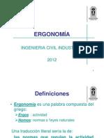Ergonomía Tema 1