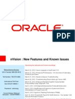 Peoplesoft Tools - 8.52 - NVision New Features and Known Issues