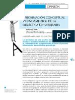 2 Aproximacion Conceptual Fundamentos Didactica Universitaria