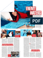 "David Kirby's Marie Claire Article, ""Enemy Waters,"" Regarding a SeaWorld Trainer's Death"