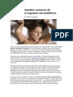 Orgasmo Femenino Con Temblores