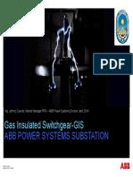 Subestaciones Alta Tension Aisladas en Gas GIS