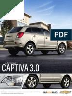 Ficha Tecnica Chevrolet Captiva Sport 2013