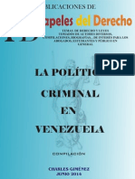 La Política Criminal en Venezuela
