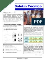 Boletín-010 - Transformador de Distribución I
