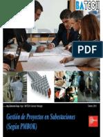Gestión de Proyectos en SS.ee (Segun PMBOK)