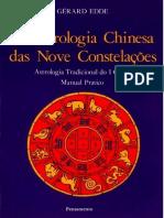 Gerard Edde - Astrologia Chinesa Das Nove Constelações