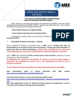 Edital Programa Apoio BAAE 2º-2014