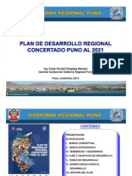 3.Plan Desarrollo Regional Concertado Puno Al 2021 Fredy Vilcapaza
