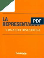 Hinestrosa, Fernando - La representación