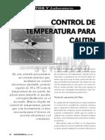 Control Temperatura Para Cautin 112