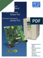 WEG Cartao Plc1 0899.5007 1.6x Manual Portugues Br