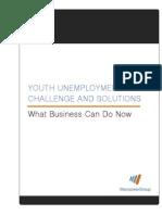 Manpower YouthEmploymentChallengeSolutions 2012