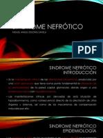 Sindrome nefrótico- PEDIATRIA