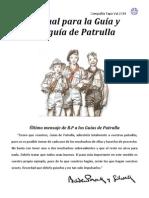Manual Para La Guía y Subguía de Patrulla