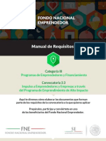 Manual de Requisitos 3.3