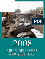 Bible Believers' Newsletters 2008