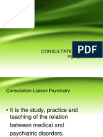 C-L Psychiatry or clinical liaison psychiatry