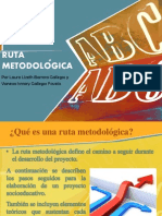 ruta metodologica