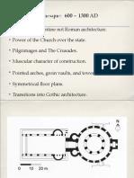 Lecture 13 Romanesque Gothic