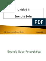 Unidad II. Energías Limpias PII 02-2014