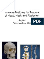 Clinical Anatomy for Trauma