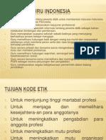 Kode ETik Guru Indonesia,,,,,,,,,,