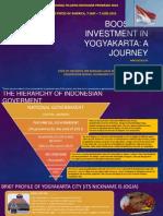 Boosting Investment in Yogyakarta