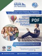 Catálogo de Cursos Academia Integral