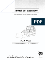 Jcb 3cx 4cx User Manual Španski