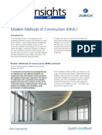 Risk Insight Modern Methods of Construction