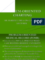 Problem Oriented Charting