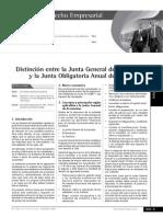 Distinción Entre La Junta General de Accionistas