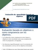 Evaluación de Aprendizajes Basado en Objetivos