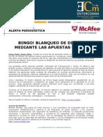NP McAfee -Bingo - Blanqueo de Dinero Mediante Las Apuestas Online