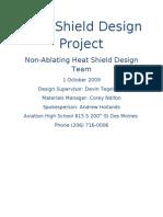 Heat Shield Design Project