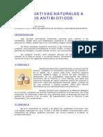 4alternativas Naturales a Los Antibioticos