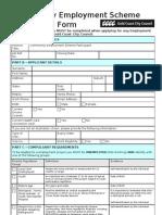 Fm657 Ces Form