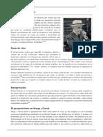 José Ortega y Gasset - Perspectivismo