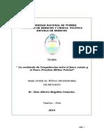 Tesina Derecho Unt - Pet 2014