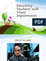Educating Students With Visual Impairments