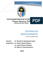 Sistemas Administrativos de ABASTECIMIENTO