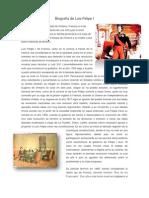 Biografía de Luis Felipe I
