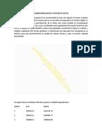 Georreferenciacion y Captura de Datos